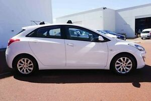 2013 Hyundai i30 GD Active White 6 Speed Sports Automatic Hatchback Wangara Wanneroo Area Preview