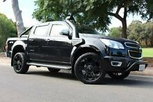 2014 Holden Colorado RG MY15 Storm Crew Cab Black 6 Speed Sports Automatic Utility Thebarton West Torrens Area Preview