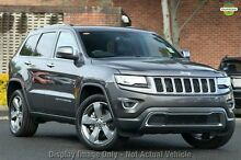 2016 Jeep Grand Cherokee WK MY15 Limited (4x4) Granite 8 Speed Automatic Wagon Chatswood West Willoughby Area Preview