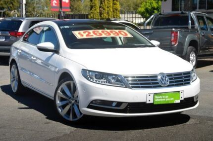 2013 Volkswagen CC Type 3CC MY13.5 130TDI DSG White 6 Speed Sports Automatic Dual Clutch Coupe Hillcrest Port Adelaide Area Preview