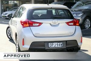 2014 Toyota Corolla ZRE182R Ascent S-CVT Silver Pearl 7 Speed Constant Variable Hatchback Brookvale Manly Area Preview