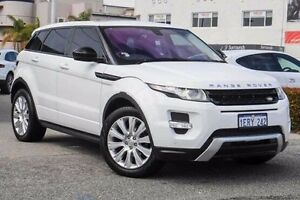 2014 Land Rover Range Rover Evoque L538 MY14 SD4 Dynamic Fuji White 9 Speed Sports Automatic Wagon Nedlands Nedlands Area Preview