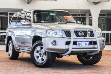 2011 Nissan Patrol GU 7 MY10 TI Silver 4 Speed Sports Automatic Wagon
