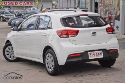 2017 Kia Rio YB MY17 S White 6 Speed Manual Hatchback