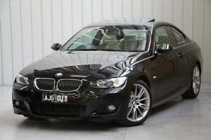 2009 BMW 325I E92 MY09 Steptronic Black 6 Speed Sports Automatic Coupe Port Melbourne Port Phillip Preview