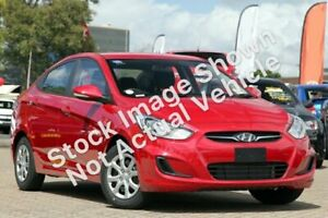 2012 Hyundai Accent RB Active Red 4 Speed Sports Automatic Sedan Strathmore Heights Moonee Valley Preview