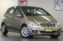 2005 Mercedes-Benz A200 W169 Elegance Beige 7 Speed Constant Variable Hatchback North Willoughby Willoughby Area Preview