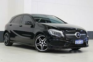 2013 Mercedes-Benz A200 176 BE Black 7 Speed Automatic Hatchback Bentley Canning Area Preview