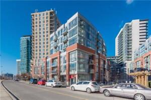 Beautifully Upgraded And Freshly Painted 1+1 Bdrm Loft Style