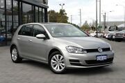 2014 Volkswagen Golf VII MY14 90TSI DSG Comfortline Silver 7 Speed Sports Automatic Dual Clutch Osborne Park Stirling Area Preview