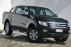 2014 Ford Ranger PX XLT Double Cab Black 6 Speed Sports Automatic Utility Blacktown Blacktown Area Preview