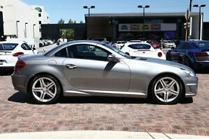2010 Mercedes-Benz SLK300 R171 MY10 7G-Tronic Grey 7 Speed Sports Automatic Roadster Osborne Park Stirling Area Preview
