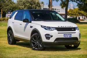 2015 Land Rover Discovery Sport L550 16MY HSE White 9 Speed Sports Automatic Wagon Burswood Victoria Park Area Preview