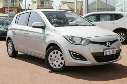 2012 Hyundai i20 PB MY12 Active Silver 5 Speed Manual Hatchback Clarkson Wanneroo Area Preview