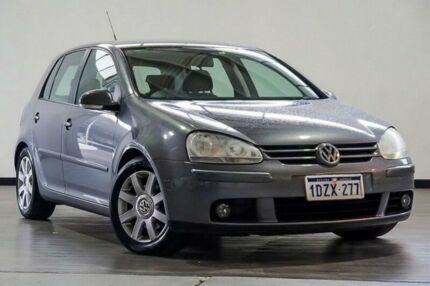 2007 Volkswagen Golf V MY08 Comfortline Tiptronic Grey 6 Speed Sports Automatic Hatchback