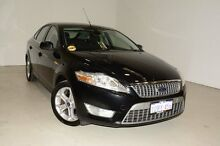 2010 Ford Mondeo MB Zetec Black 6 Speed Sports Automatic Hatchback Edgewater Joondalup Area Preview