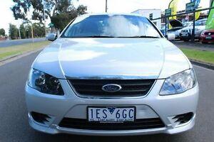 2008 Ford Falcon BF Mk II SR Silver 4 Speed Sports Automatic Sedan West Footscray Maribyrnong Area Preview