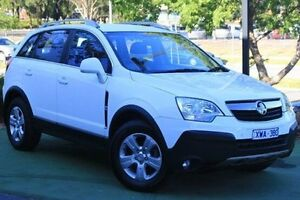 2010 Holden Captiva CG MY10 5 AWD White 5 Speed Sports Automatic Wagon Berwick Casey Area Preview