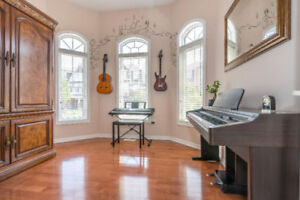 PRIVATE LESSONS FOR GUITAR AND PIANO $23/30 MINUTES