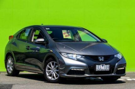 2013 Honda Civic 9th Gen MY13 VTi-S Grey 6 Speed Manual Hatchback Ringwood East Maroondah Area Preview