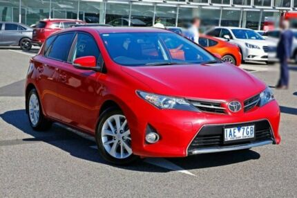 2013 Toyota Corolla ZRE182R Ascent Sport S-CVT Red 7 Speed Constant Variable Hatchback Strathmore Moonee Valley Preview