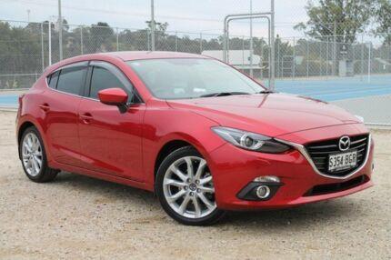 2014 Mazda 3 BM5436 Soul Red 6 Speed Manual Hatchback Tanunda Barossa Area Preview