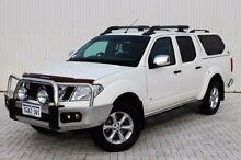 2011 Nissan Navara  White Automatic Utility Embleton Bayswater Area Preview