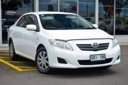 2007 Toyota Corolla ZRE152R Ascent White 4 Speed Automatic Sedan Blair Athol Port Adelaide Area Preview