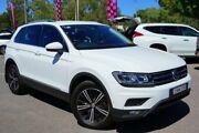 2017 Volkswagen Tiguan 5N MY18 132TSI DSG 4MOTION Adventure White 7 Speed Phillip Woden Valley Preview