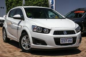 2015 Holden Barina TM MY15 CD White 6 Speed Automatic Hatchback Embleton Bayswater Area Preview