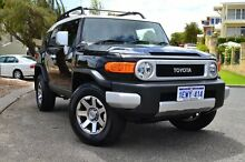 2015 Toyota FJ Cruiser GSJ15R MY14 Ebony 5 Speed Automatic Wagon Claremont Nedlands Area Preview
