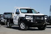 2016 Nissan Navara D23 RX White 6 Speed Manual Cab Chassis Kedron Brisbane North East Preview