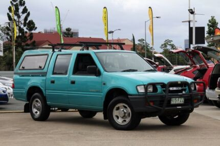 2000 Holden Rodeo TF R9 LX Crew Cab Green 4 Speed Automatic Utility