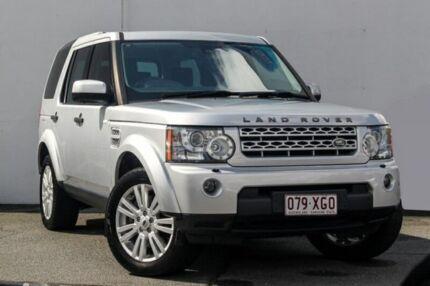2013 Land Rover Discovery 4 Series 4 TDV6 Wagon 5dr Spts Auto 8sp 4x4 3.0DTT [MY13] Silver
