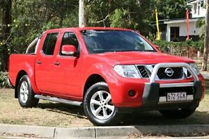 2011 Nissan Navara D40 MY11 ST-X Red 6 Speed Manual Utility Yeerongpilly Brisbane South West Preview