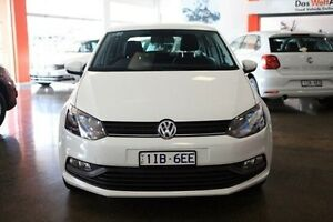 2015 Volkswagen Polo 6R MY15 66TSI DSG Trendline White 7 Speed Sports Automatic Dual Clutch Frankston Frankston Area Preview