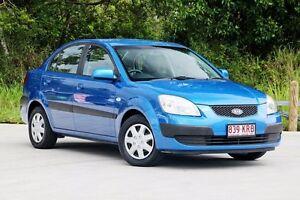 2007 Kia Rio JB Blue 4 Speed Automatic Sedan Aspley Brisbane North East Preview