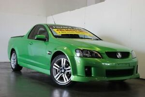 2009 Holden Commodore VE MY10 SV6 Green 6 Speed Automatic Utility Underwood Logan Area Preview