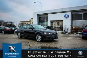 2013 Audi A4 Quattro AWD w/ Leather/Sunroof