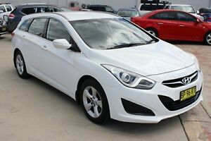 2011 Hyundai i40 VF Active Tourer White 6 Speed Sports Automatic Wagon Maryville Newcastle Area Preview