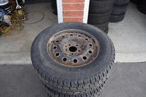 Ford Escape 235/70/16 Cooper Snows On Rims 80% Tread