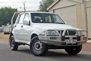2005 Ssangyong Musso Sports White 5 Speed Manual Utility Glenelg Holdfast Bay Preview