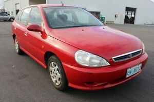 2001 Kia Rio LS Red 5 Speed Manual Hatchback Devonport Devonport Area Preview