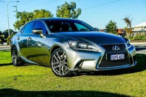 2014 Lexus IS350 GSE31R F Sport Gunmetal 8 Speed Sports Automatic Sedan Wangara Wanneroo Area Preview