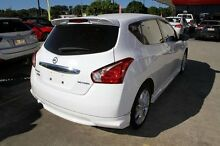 2013 Nissan Pulsar C12 SSS White 6 Speed Manual Hatchback Buderim Maroochydore Area Preview