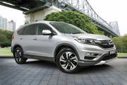2015 Honda CR-V RM Series II MY16 VTi-L 4WD Silver 5 Speed Sports Automatic Wagon Hamilton East Newcastle Area Preview