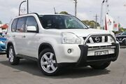 2010 Nissan X-Trail T31 MY10 TS White 6 Speed Sports Automatic Wagon Gymea Sutherland Area Preview