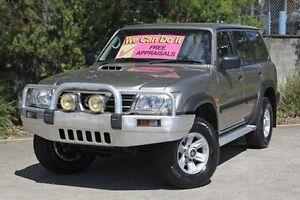 2003 Nissan Patrol GU III MY2003 ST Gold 4 Speed Automatic Wagon Underwood Logan Area Preview