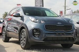 2017 Kia Sportage QL MY17 SLi 2WD Mercury Blue 6 Speed Sports Automatic Wagon Blacktown Blacktown Area Preview