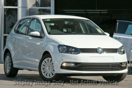 2017 Volkswagen Polo 6R MY17 66 TSI Trendline Pure White 5 Speed Manual Hatchback